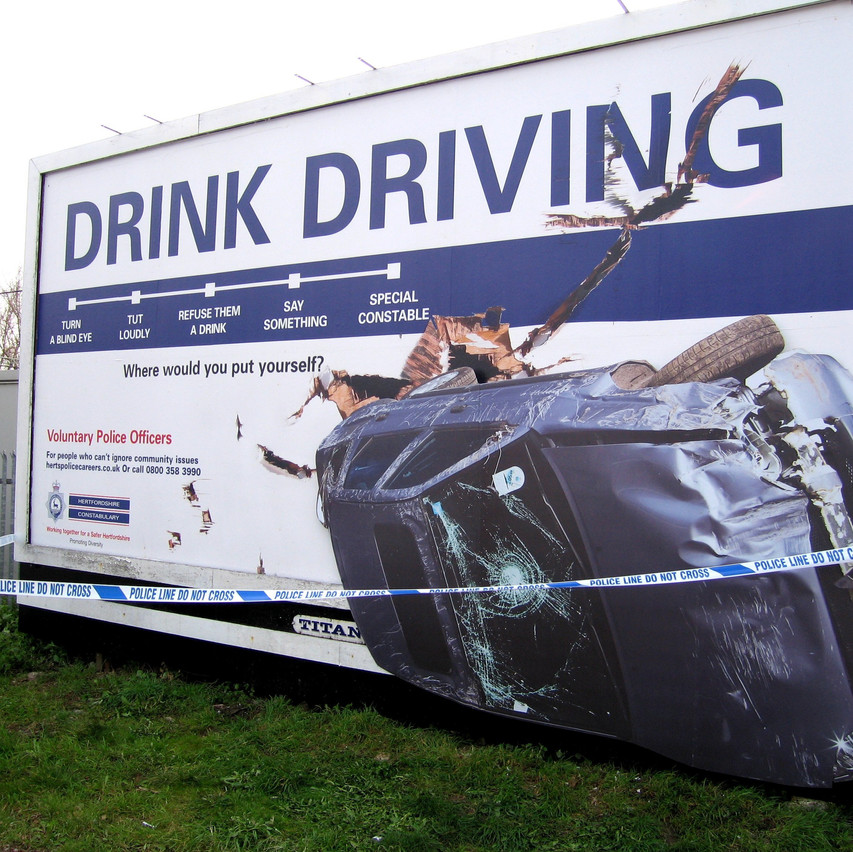 HERTS GOV - Drink Driving 2D