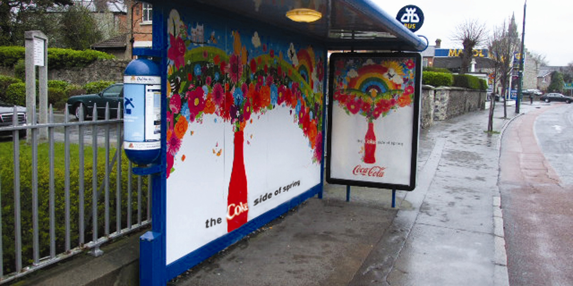 Bus Shelter Wrap with sound FX