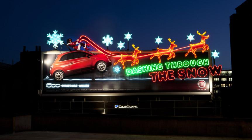 Fiat 500 Christmas Spectacular