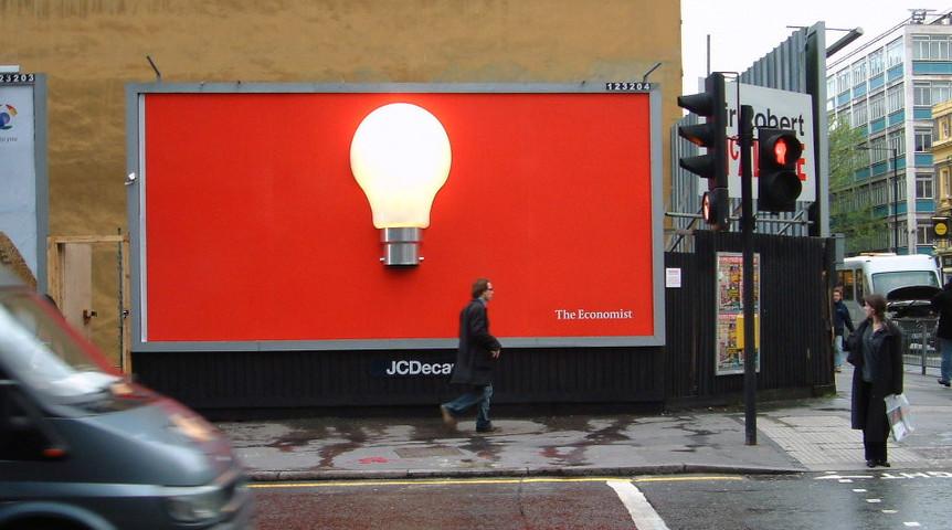 "Economist Lightbulb ""IDEA"" Special"
