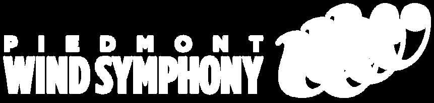 Piedmont Wind Symphony Logo_FINAL_Horz_W