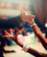 Танцевальное фото с турнира по бальным танцам, руки в танце