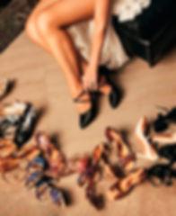 Танцевальные туфли для бальных танцев и аргентинское танго