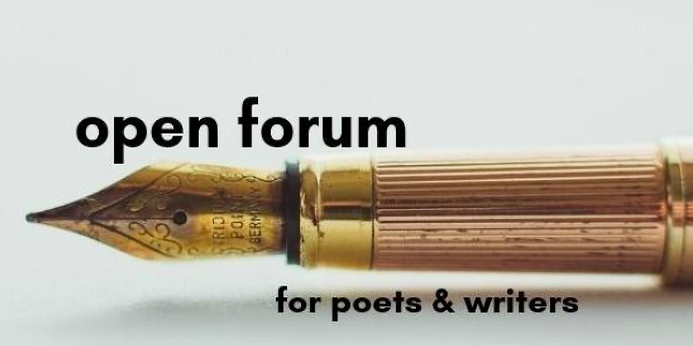 Open Forum for Poets/Writers