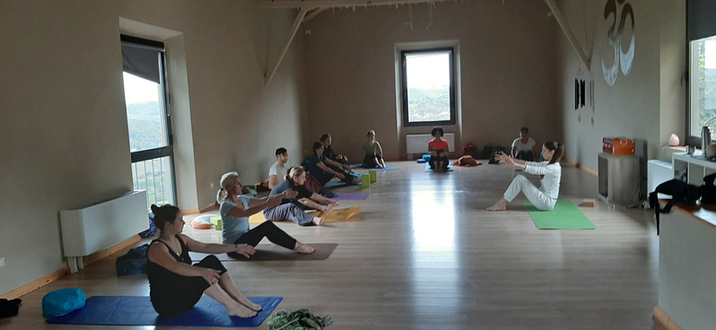 I nsotri ritiri yoga