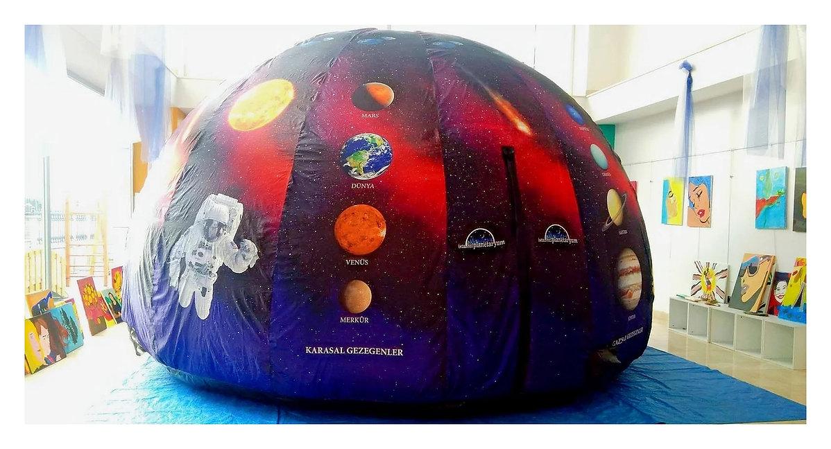 taşınabilir planetaryum