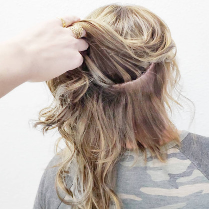 extensions are ment to be seen, but not seen IBE extensu=ions Samantha Dean Hair