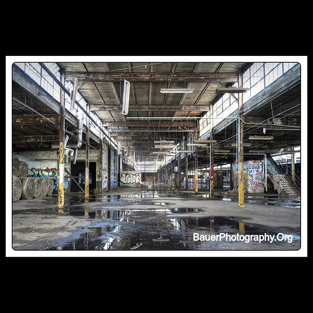 Abandoned Industial Warehouse