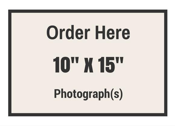 "10"" x 15"" Photograph(s)"