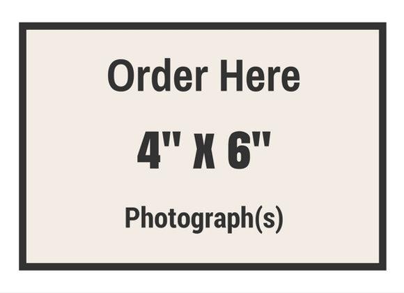 "4"" x 6"" Photograph(s)"