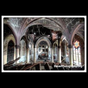 Abandoned Roman Catholic Church