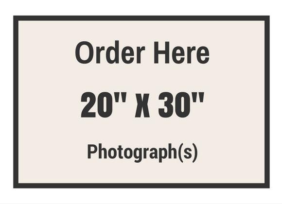 "20"" x 30"" Photograph(s)"
