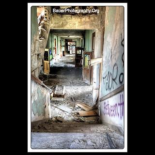 Down the Stairs, Thru the Hallway