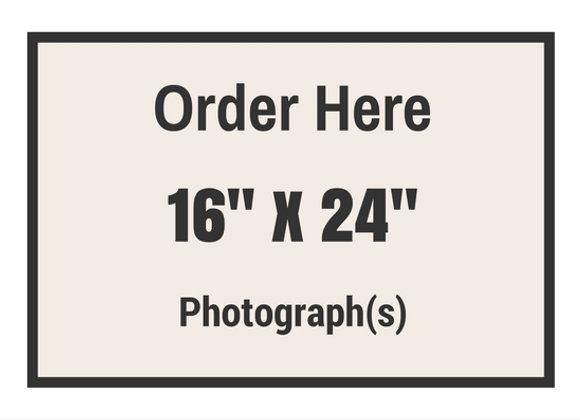 "16"" x 24"" Photograph(s)"