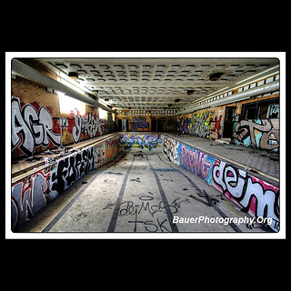 Abandoned Indoor Pool - YMCA