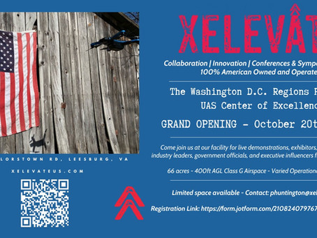 An Invitation to XELEVATE Grand Opening - October 20, 2021
