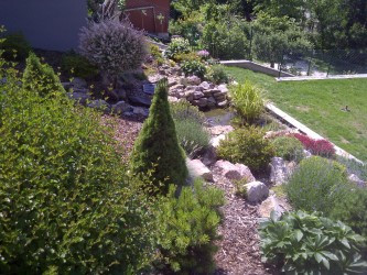 Všenory - soukromá zahrada