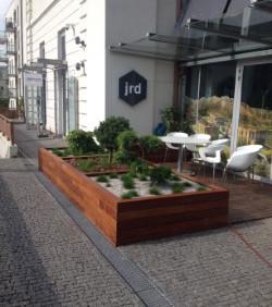 f. JRD Praha - předzahrádka