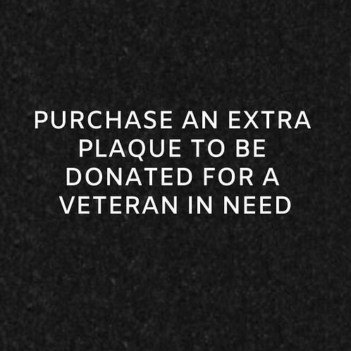 Donate a Plaque