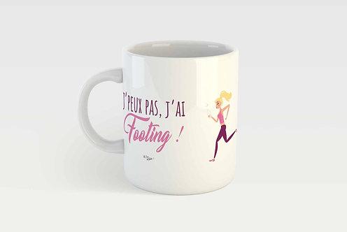 J'PEUX PAS J'AI FOOTING - FEMME  !