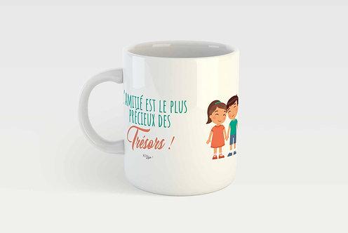 L'AMITIÉ EST UN TRÉSOR ! - FILLE ET GARÇON