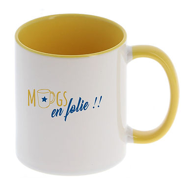 Mugs personnalisés avec photo, logo, texte ou humouristique