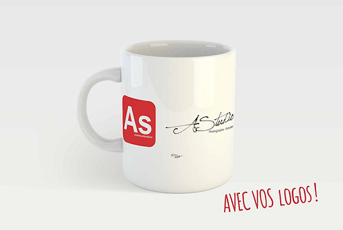 Mug PERSONNALISÉ - LOGO(S)