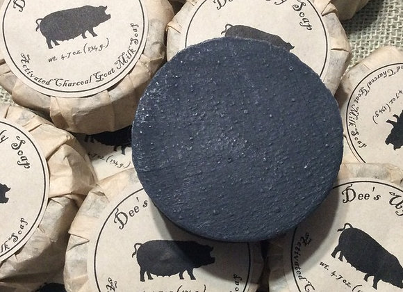Activated Charcoal with Goat Milk