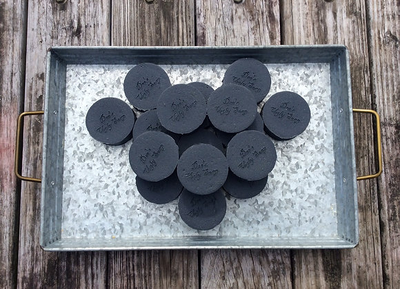 Activated Charcoal with Lemon Peel