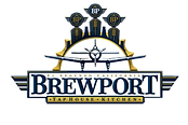 Brewport logo - white internal and trans