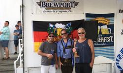 3 under brewport banner