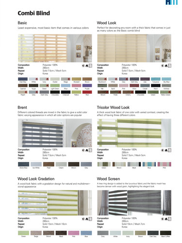 Pg.7 Combi Blinds
