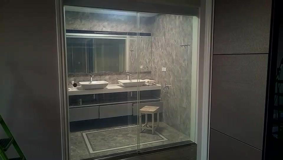 Bathroom Slide glass door