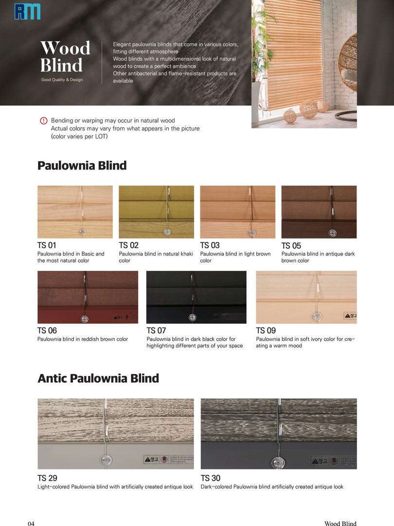 Pg.4 Wood Blinds