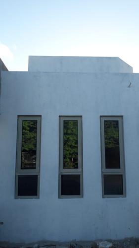 Closer view of windows