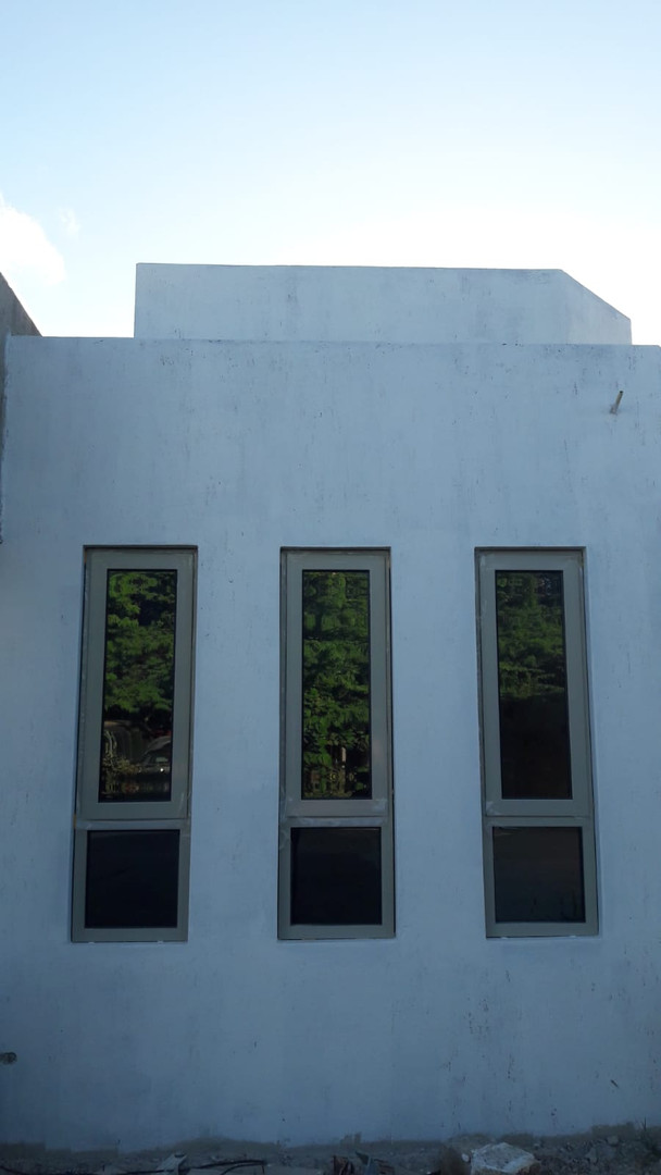 Closer view of windows
