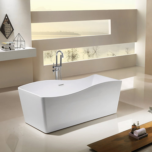 Free Standing Bathtub Curvature