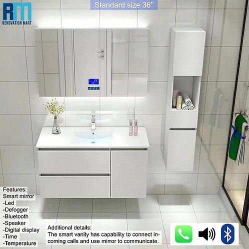 Smart vanity set