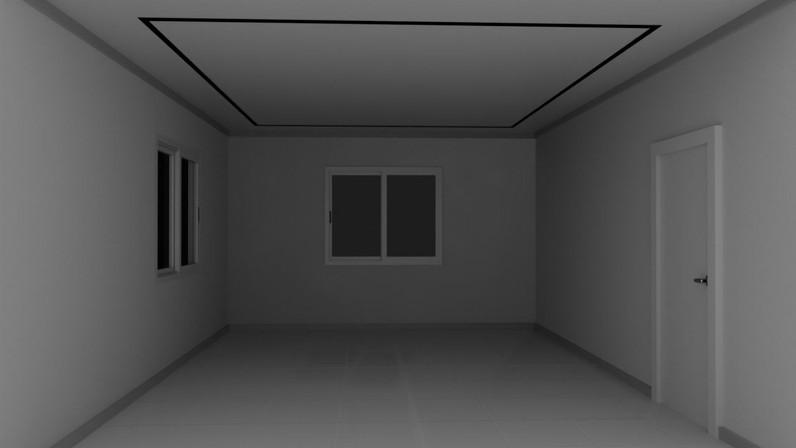 Square Ceiling Led