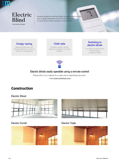 Pg.14 Electrical Blinds