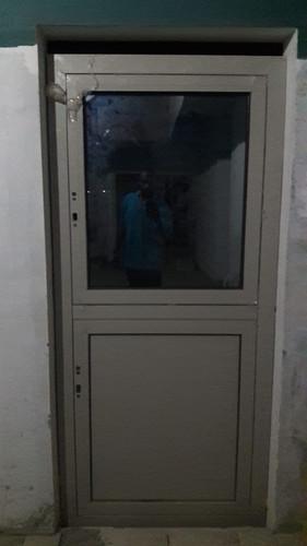 Impact door outside view