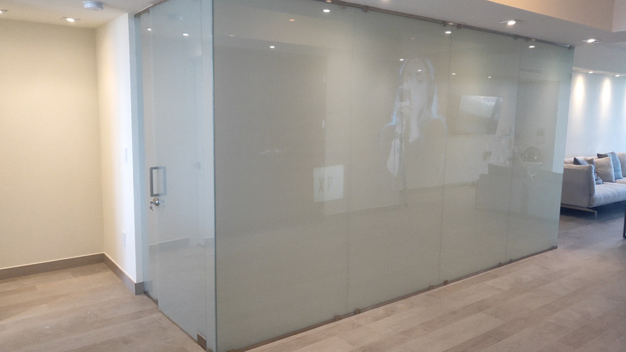 Glass Partition