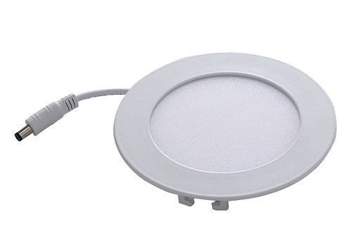 Recessed LED Panel Round 4 inch cool white