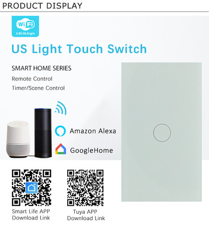 Single switch touch