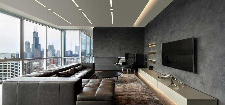 Highrise apartment building