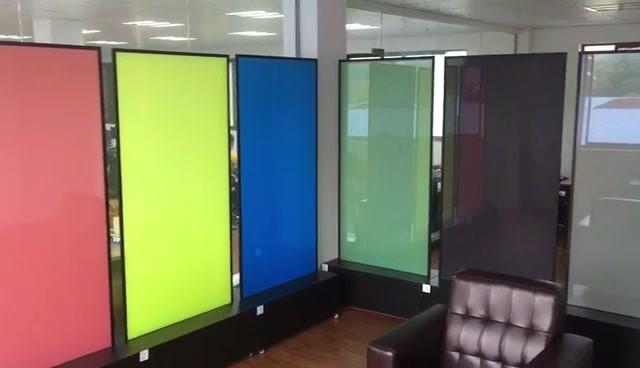 Large color demonstration