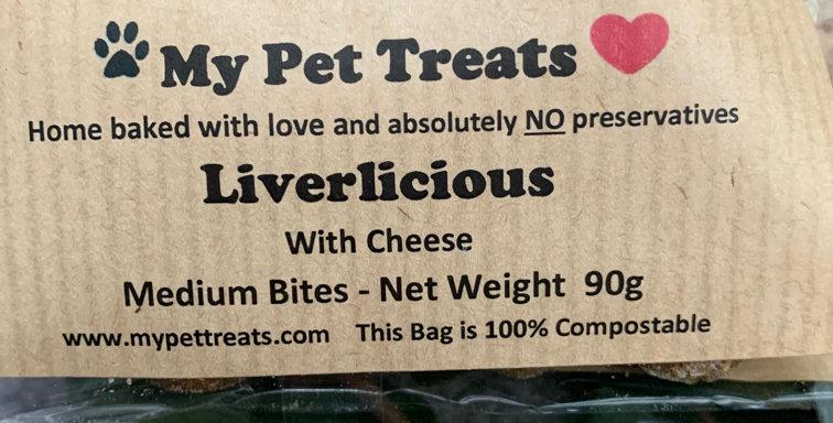 Liverlicious Dog Treats