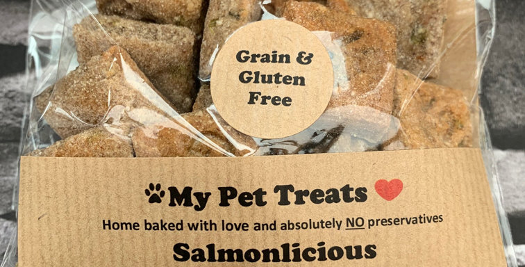 Grain & Gluten Free Salmonlicious Dog Treats