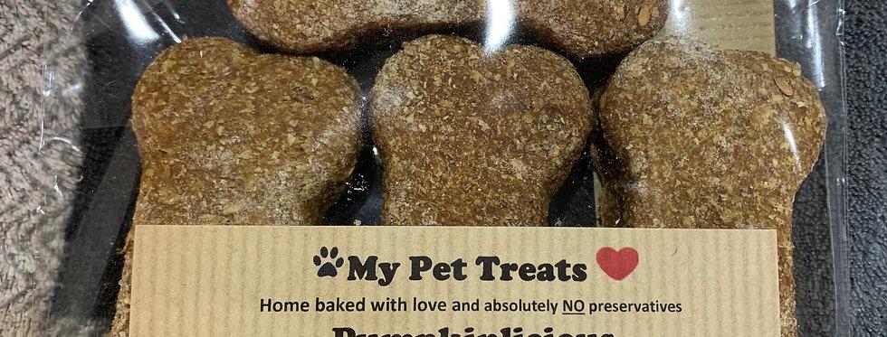 Pumpkinlicious Dog Treats