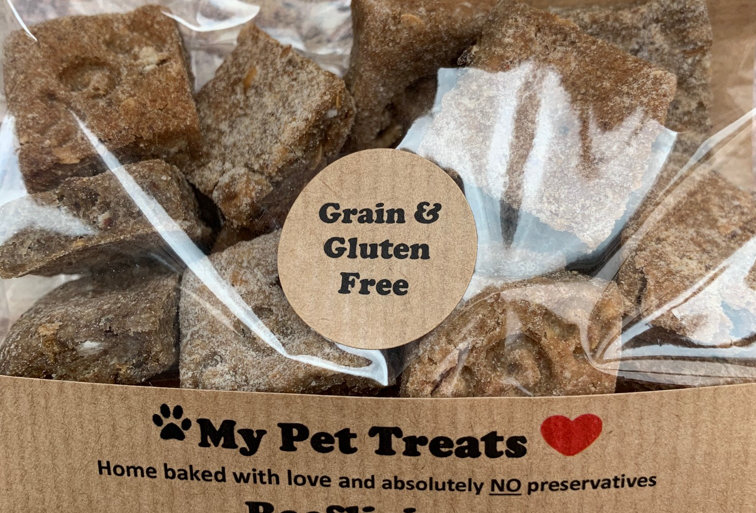 Grain & Gluten Free Beeflicious Dog Treats